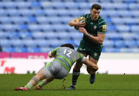 London Irish v Newcastle Falcons, Reading, UK - 30 December 2017