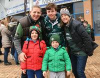 London Irish v Newcastle Falcons, Reading, UK - 30 December 2017