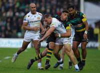 Northampton Saints v Exeter Chiefs, Northampton, UK - 23 Dec 201
