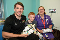 Plymouth Albion Childrens Hospital Visit, Plymouth,-UK-05 Dec 20