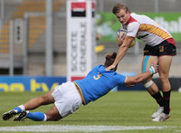 Germany v Italy, Exeter, UK - 15 July 2017