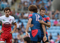 Rugby Europe 7s Cup Semi Final 2, Exeter, UK - 16 July 2017