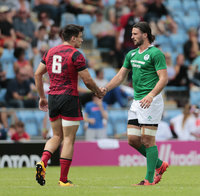 Rugby Europe 7s Cup Semi Final 1, Exeter, UK - 16 July 2017
