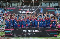 Rugby Europe 7s Cup Final, Exeter, UK - 16 July 2017