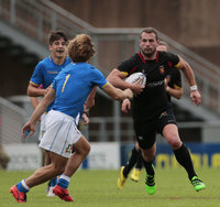 Italy v Belgium, Exeter, UK - 16 July 2017