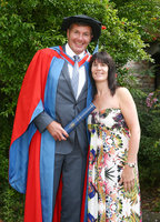 Exeter Chiefs Rob Baxter awarded honorary degree, Exeter, UK - 2