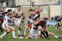 Cornish Pirates v Doncaster Knights, Penzance -UK - 26 Mar 2017