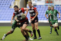 London Irish v Cornish Pirates, Reading, UK - 18 Mar 2017