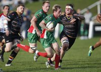 Caldy  v Plymouth Albion, Caldy , UK - 14 Oct 2017
