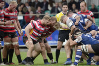 Cornish Pirates v Nottingham Rugby, Penzance UK - 08 October 201