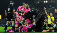 Exeter Chiefs v Glasgow Warriors, Exeter, UK - 14 Oct 2017