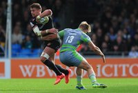 Exeter Chiefs v Newcastle Falcons, Exeter, UK - 7 Oct 2017