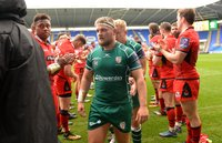 London Irish v Edinburgh Rugby, Reading, UK - 14 October 2017