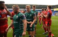 London Irish v Edinburgh Rugby, Reading, UK - 14 October 2017