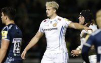 Sale v Exeter Chiefs, Manchester, UK - 27 Oct 2017