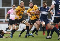 Yorkshire Carnegie  v Cornish Pirates, Leeds, UK - 01 Oct 2017
