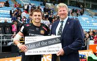 Exeter Chiefs v Wasps, Exeter, UK - 24 Sept 2017