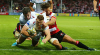 Gloucester v Exeter Chiefs, Gloucester, UK - 1 Sept 2017