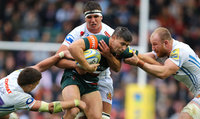 Leicester Tigers v Exeter Chiefs, Leicester, UK - 30 Sept 2017