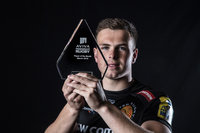 Aviva POTM Award - Exeter Chiefs Joe Simmonds, Exeter, UK - 9 Ap
