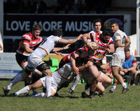 Cornish Pirates v Richmond, Penzance UK - 8 Apr 2018