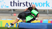 Exeter Chiefs Training, Exeter, UK - 05 Apr 2018