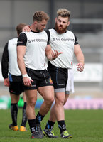 Exeter Chiefs Training, Exeter, UK - 12 Apr 2018