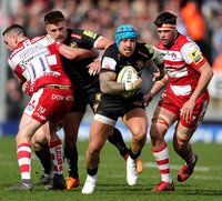 Exeter Chiefs v Gloucester Rugby, Exeter, UK - 8 Apr 2018