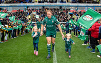 London Irish v Saracens, Reading, UK - 29 Apr 2018