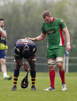 Old Albanians v Plymouth Albion, St Albans, UK - 21 Apr 2018