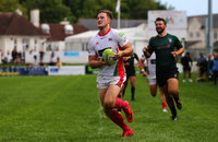 Plymouth Albion v Exeter University, Plymouth, UK - 18 Aug 2018