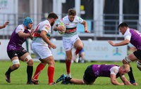 Plymouth Albion v Cornish Pirates, Plymouth, UK - 25 Aug 2018