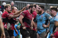 Cornish Pirates v London Scottish, Penzance, UK - 30 Dec 2018