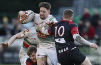 Moseley v Plymouth Albion, Birmingham, UK - 01 Dec 2018