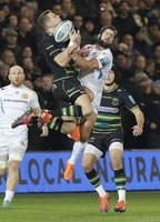 Northampton Saints  v Exeter Chiefs, Northampton, UK - 28 Dec 2018