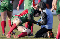 Birmingham Moseley v Plymouth Albion, Birmingham, UK - 24 Feb 20