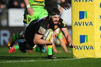 Exeter Chiefs v Northampton Saints, Exeter, UK - 24 Feb 2018