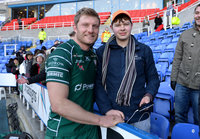 London Irish v Worcester Warriors, Reading, UK - 25 Feb 2018