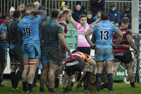 Cornish Pirates v Jersey Reds, Penzance UK - 31 December 2017