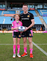 Exeter Chiefs v Montpellier, Exeter, UK - 13 Jan 2018