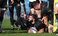 Exeter Chiefs Training, Exeter, UK - 10 Jan 2018