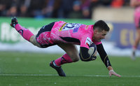 Glasgow Warriors v Exeter Chiefs, Glasgow, UK - 20 Jan 2018