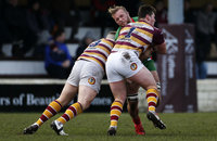 Fylde v Plymouth Albion, Lytham St. Annes, UK - 13 Jan 2018