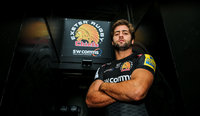 Santiago Cordero signs to Exeter Chiefs, Exeter, UK - 29 Jan 2018