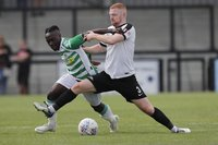 Corby Town  v Yeovil Town, Corby, UK - 28 Jul 2018