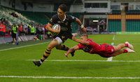 Wasps v Gloucester Rugby, Northampton, UK - 27 Jul 2018