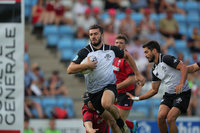 Georgia v Wales, 5th Place, Exeter, UK - 08 Jul 2018