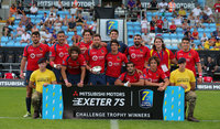 Italy v Spain, Challenge Trophy, Exeter, UK - 08 Jul 2018