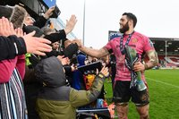 Bath Rugby v Exeter Chiefs, Gloucester, UK - 30 Mar 2018