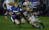 Bath Rugby v Exeter Chiefs, Bath, UK - 23 Mar 2018